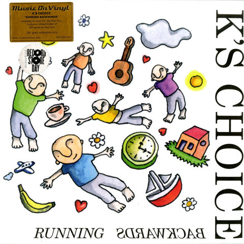 K's Choice - Running Backwards LP Music on Vinyl Red Vinyl RSD 2019