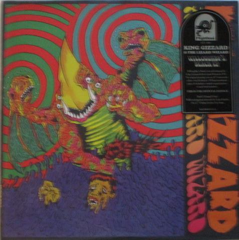 "King Gizzard & Lizard Wizard - Willoughby's Beach EP 12"" Ltd. Red Viny"