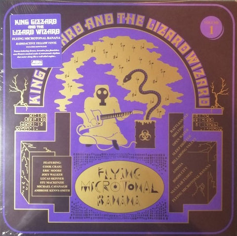 King Gizzard & Lizard Wizard - Flying Microtonal Banana LP Ltd. Ed. Radioactive Yellow Vinyl