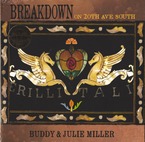 Buddy & Julie Miller - Breakdown on 20th Ave. South LP Indie Exclusive Root Beer Swirl Vinyl