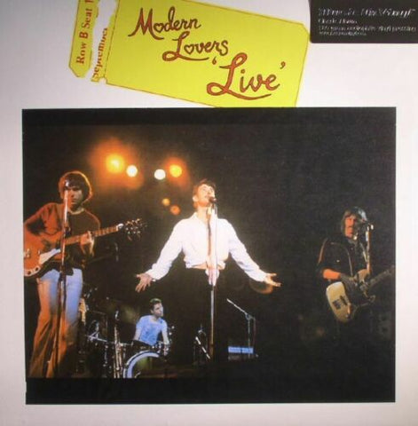 Modern Lovers - Live LP 180 gram Music On Vinyl
