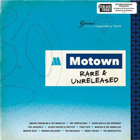 V/A Motown Rare & Released LP Ltd. Ed. Black Friday 2019