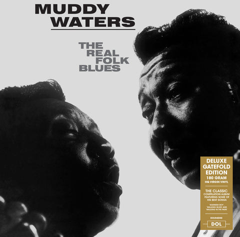 Muddy Waters - Real Folk Blues LP 180 gram HQ Vinyl Gatefold