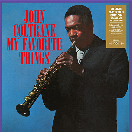 John Coltrane - My Favorite Things LP 180 gram HQ Vinyl Gatefold
