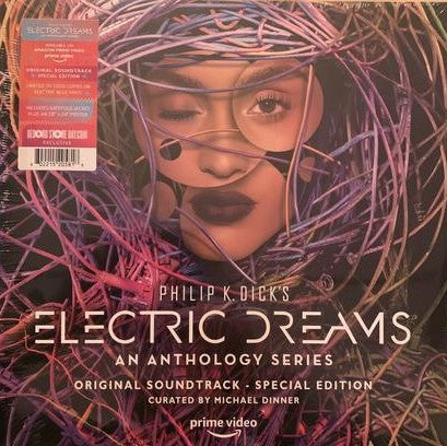V/A Philip K. Dick's Electric Dreams LP Ltd. Blue Vinyl