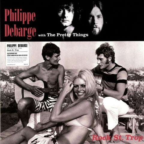 Phillipe DeBarge w/ The Pretty Things - Rock St. Trop LP 180 gram