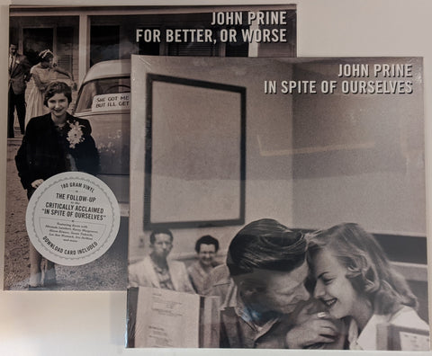 John Prine - Both Duet LPs : In Spite of Ourselves + For Better, Or Worse