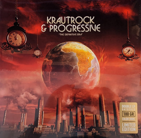 V/A - Krautrock & Progressive: The Definitive Era 2 LP Ltd Color Vinyl