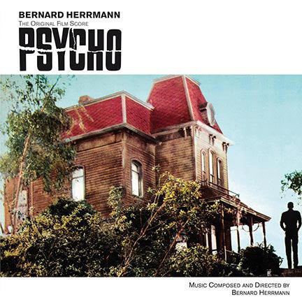 Bernard Herrmann - Psycho Original Film Score LP Ltd. 180 g Red Vinyl
