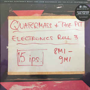 "Tristam Cary - Quartermass + The Pit : Electronic Music Cues 10"" RSD 2017"