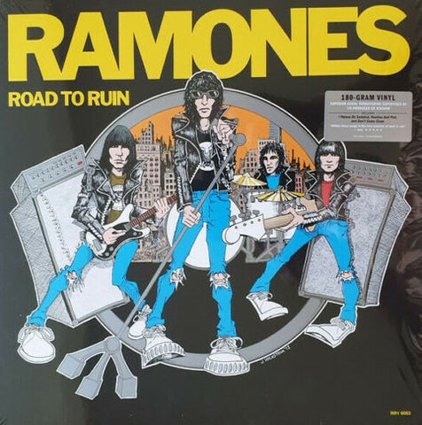 Ramones - Road To Ruin LP Ltd. 180 gram Superior Audio Reissue 2019