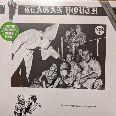 Reagan Youth - Youth Anthems For The New Order Vol. 1 LP Ltd Green Vinyl