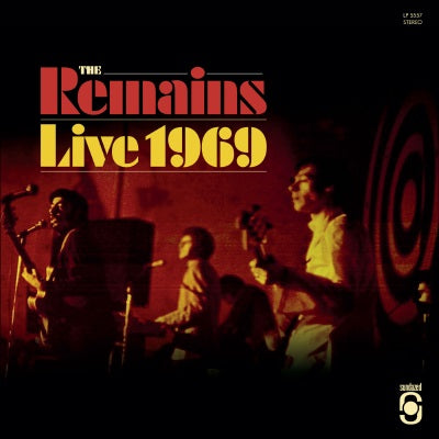 Remains - Live 1969 LP