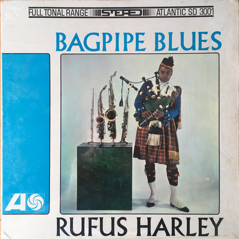 Rufus Harley - Bagpipe Blues LP