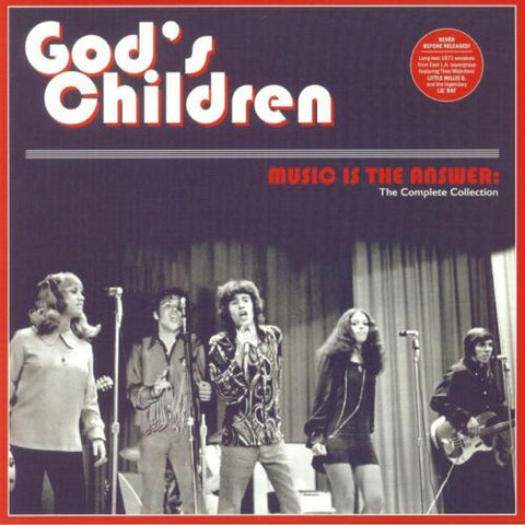 God's Children - Music Is The Answer: Complete Collection LP Ltd. Brown Vinyl