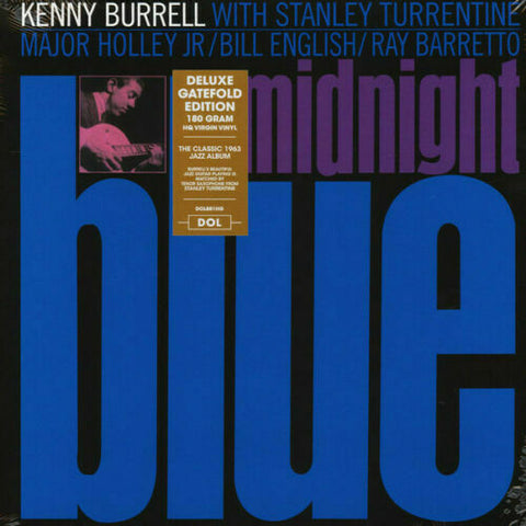 Kenny Burrell - Midnight Blue LP 180 gram HQ Vinyl Gatefold