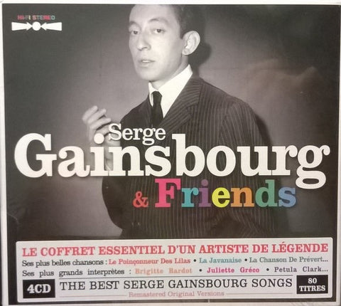 Serge Gainsbourg & Friends 4 CD
