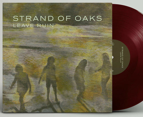 Strand of Oaks - Leave Ruin LP Ltd Red Vinyl