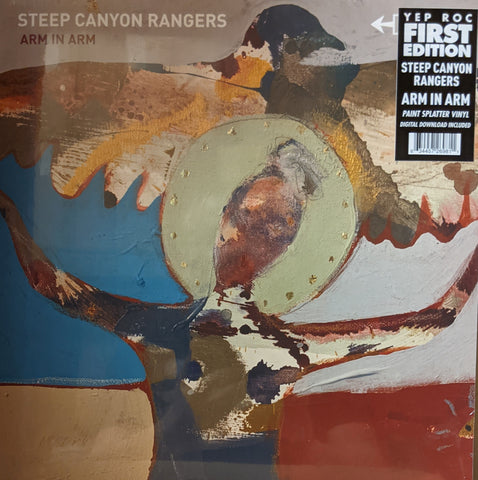 Steep Canyon Rangers - Arm In Arm LP Ltd Paint Splatter Vinyl
