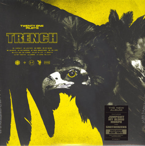 Twenty One Pilots - Trench 2 LP Ltd. Olive Vinyl