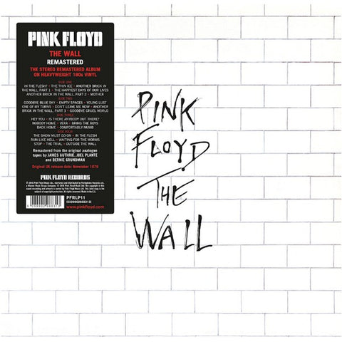 Pink Floyd - The Wall 2 LP 2016 180 g Remastered EU import