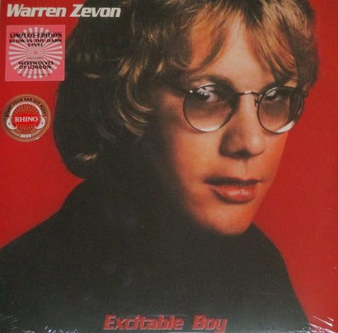 Warren Zevon - Excitable Boy LP Ltd. GID Vinyl