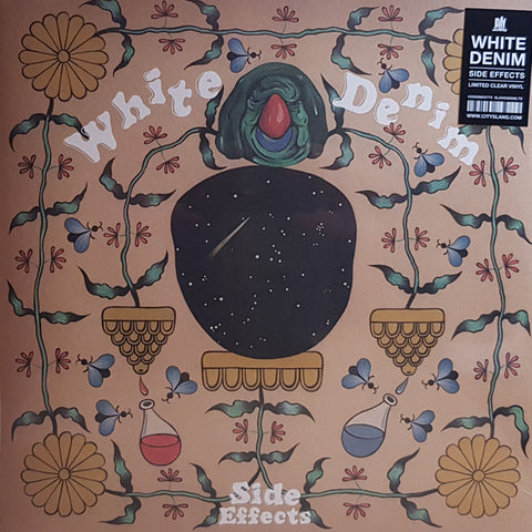 White Denim - Side Effects LP Ltd. Clear Vinyl