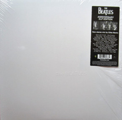 Beatles - White Album S/T 2 LP 2018 Stereo Mix
