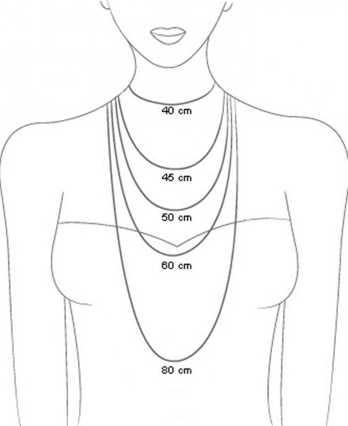 Necklace Lenght Chart