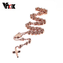 Gold-Toned Stainless Steel Rosary