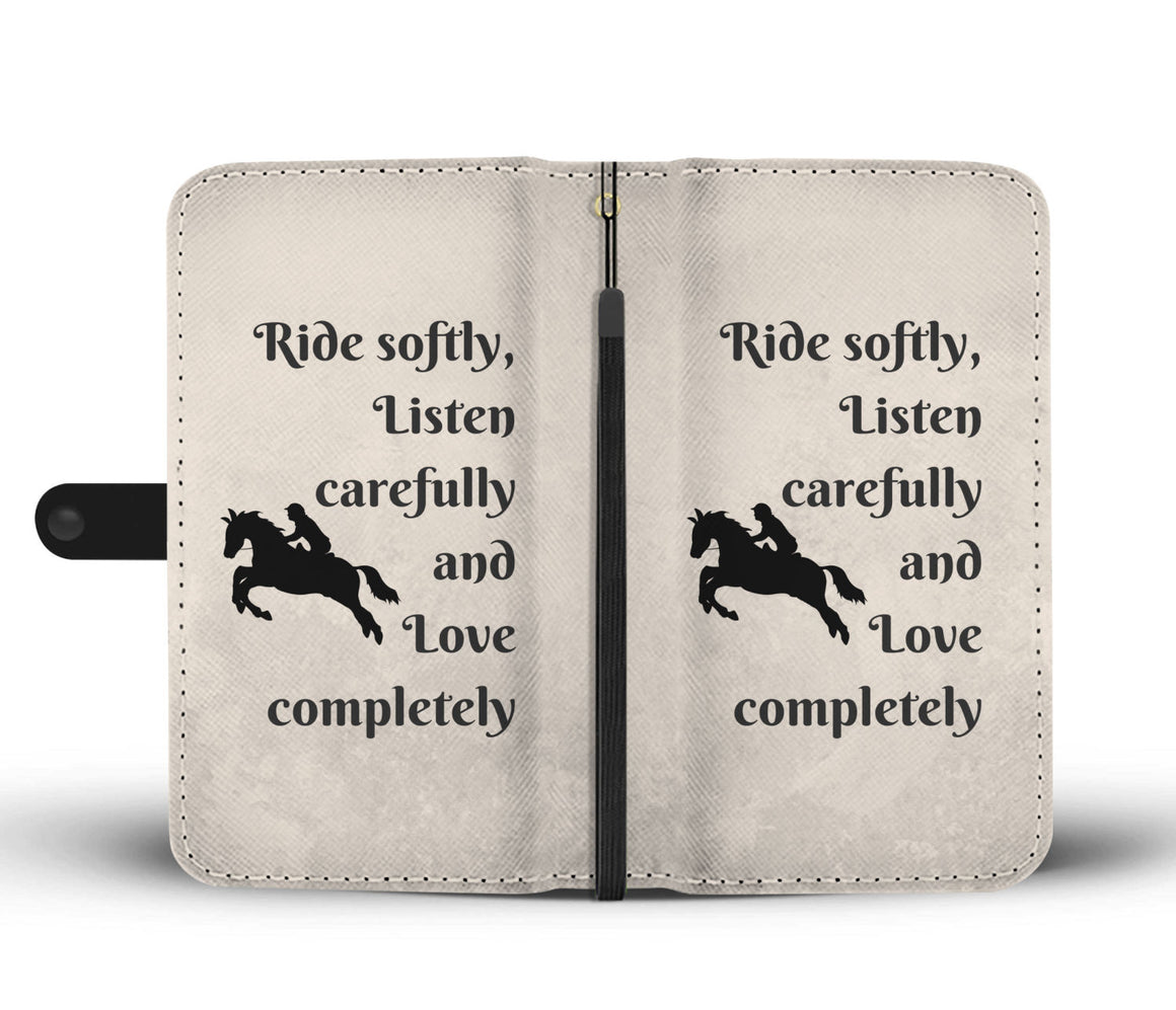 Ride Softly Wallet Case