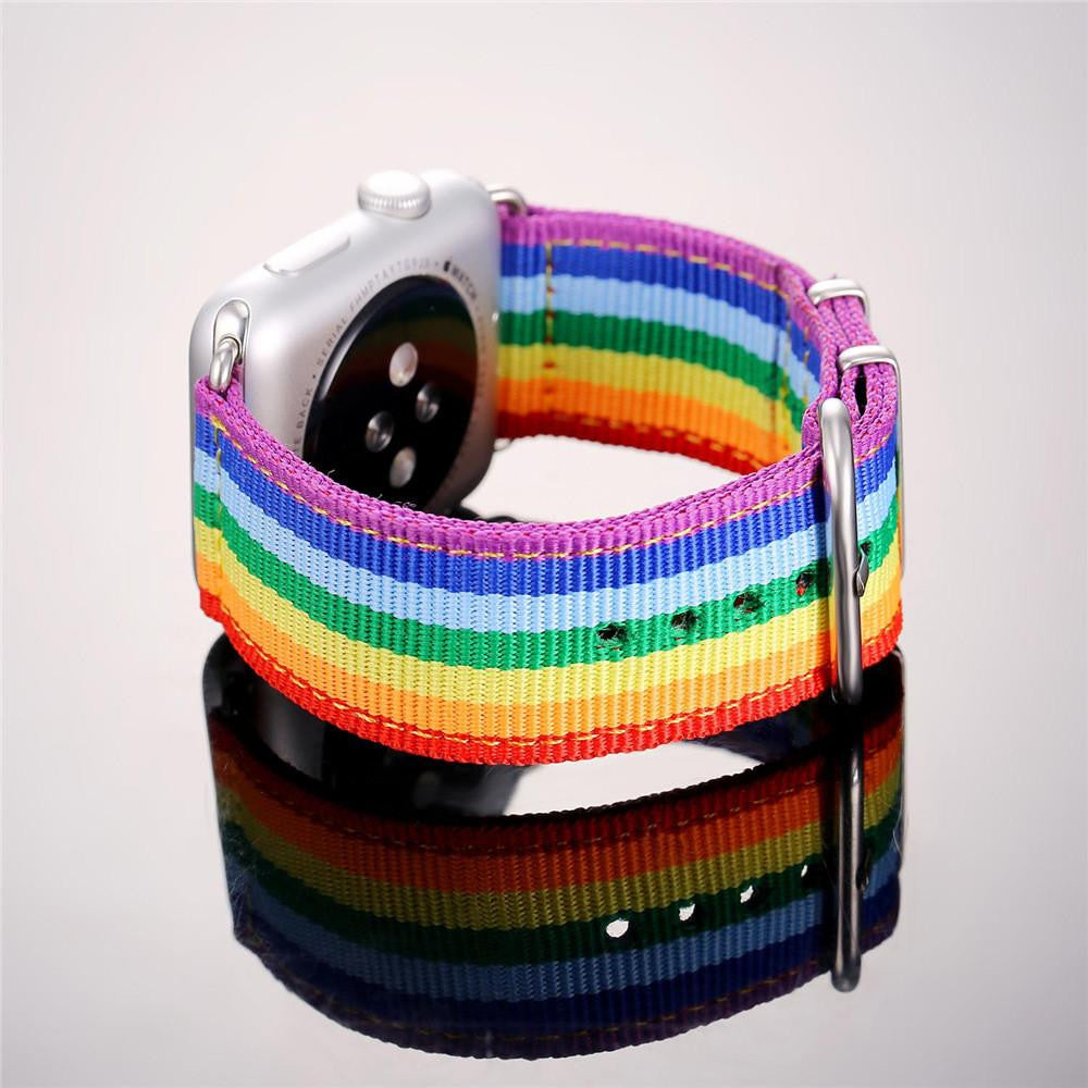 Rainbow Apple Watch Strap 38MM/42MM