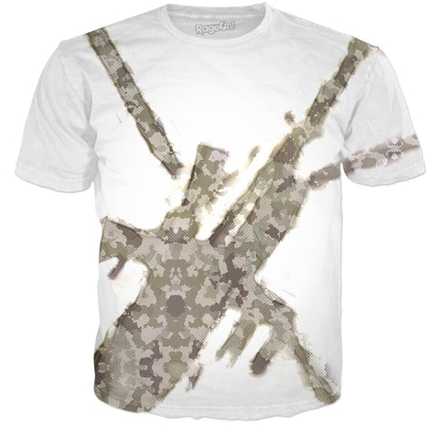 Veteran Outfitters Apache Camouflage All Over Print Shirt