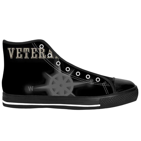 Veteran Outfitters Black Canvas Sneakers