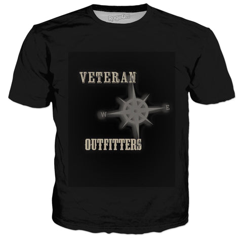 Veteran Outfitters Compass Black T-Shirt