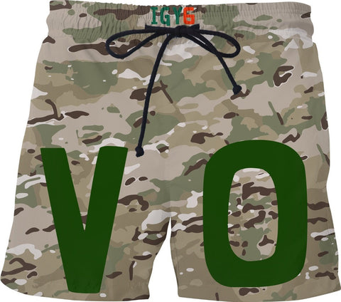 Veteran Outfitters Multicam Swim Shorts
