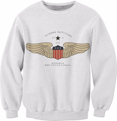Veteran Outfitters Wings Sweat Shirt