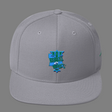Reauxl Wave Custom Louisiana TU Wool Blend Snapback