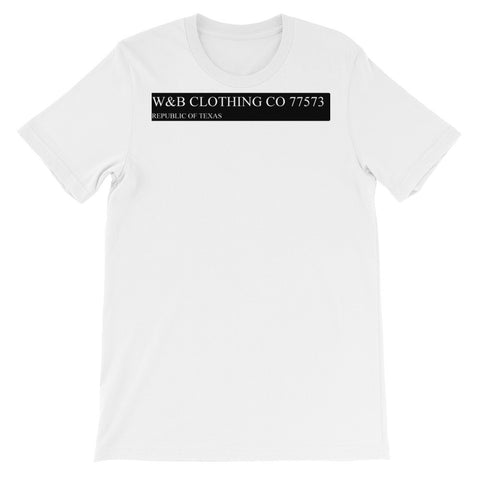 W&B Clothing Company Classic Street Sign Inspired Design