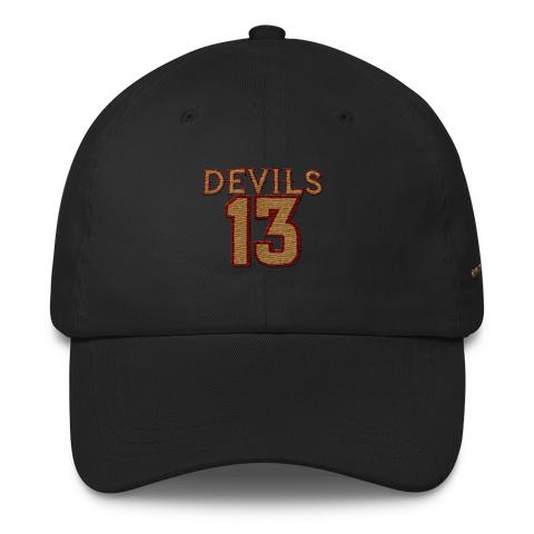 Devils Advocate Apparel by W&B Clothing Company Devils 13 Classic Dad Cap