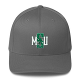 Sparty in Texas Apparel Spartan Bold Flexfit Structured Twill Cap