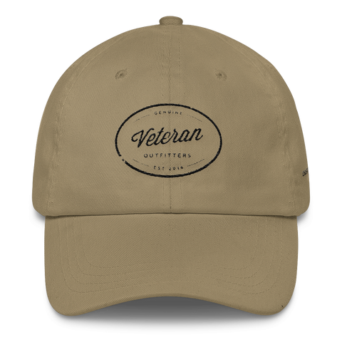 Veteran Outfitters Oval Classic Unstructured Cap