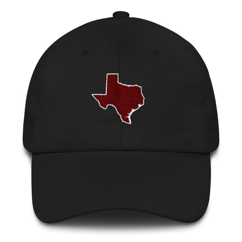 The Hullabaloo by W&B Clothing Company Texas Outline Relaxed Cap