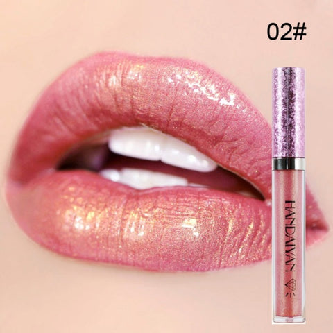 Waterproof Shimmer Liquid Lipstick