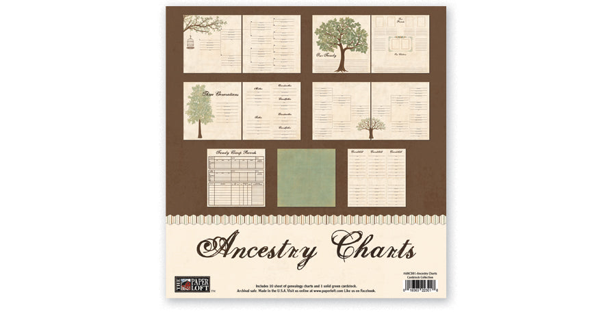 ANC301-Ancestry Charts Collection