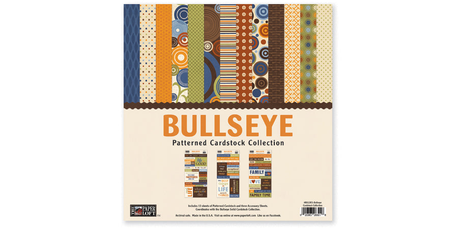 BUL301-Bullseye Patterned Collection
