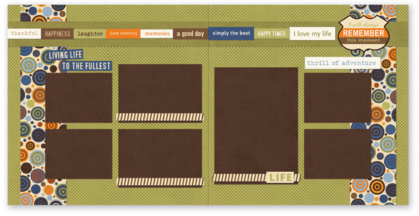 BUL509-Love My Life Two Page Kit