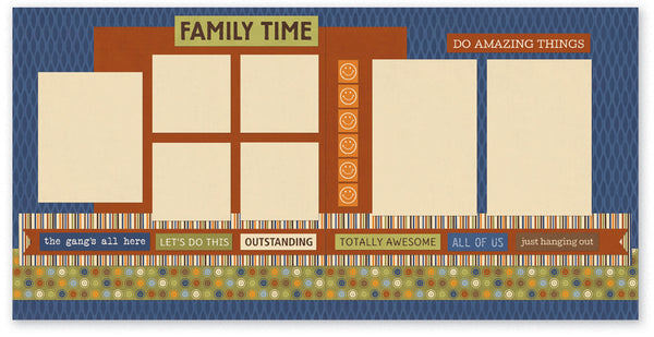 BUL511-Family Time Two Page Kit