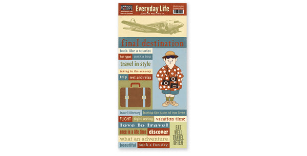 EDL205-Vacation Accessory Sheet