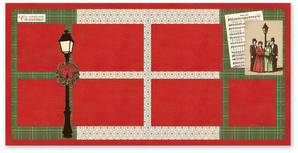 FFC506-A Holly Jolly Christmas Two Page Kit